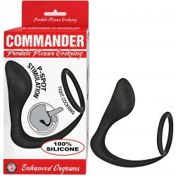 COMMANDER PROSTATE PLEASER COCKRING