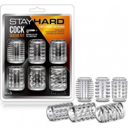 STAY HARD COCK SLEEVE KIT CLEAR