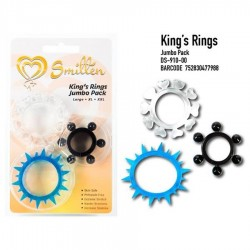 KING´S RINGS JUMBO PACK
